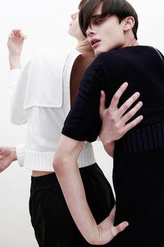 Kurt Herbst and Augustin Alriq // Photo by Balint Barna for Novembre Magazine