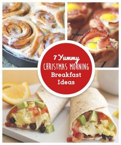 7 of our favorite Christmas Morning Breakfast Ideas for your entire family to enjoy!
