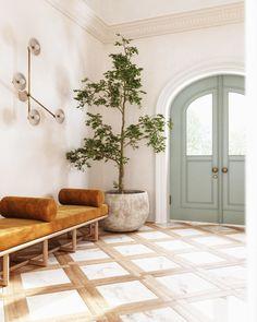 Interior Design Services, Interior Design Inspiration, Home Decor Inspiration, Home Interior Design, Interior And Exterior, Interior Decorating, Entry Way Design, Foyer Design, Design Studio