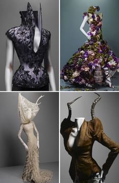 """Savage Beauty by Alexander McQueen visits London"" http://bocadolobo.com/blog/fashion/alexander-mcqueens-best-designs-will-be-exhibited-in-london/ @bocadolobo"