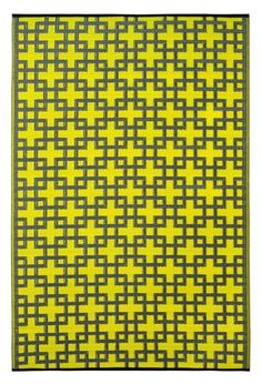 Rheinsberg Sunny Lime World Indoor/Outdoor Area Rug