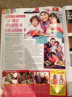 Samira from Master Chef Australia 2013 in Women's Day!