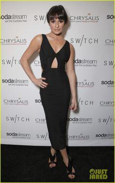 Lea Michele & Naya Rivera: Switch Boutique Holiday Party! | Becca Tobin, Chord Overstreet, Lea Michele, Naya Rivera Photos | Just Jared