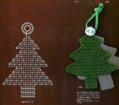 Рождественская елка крючком. Обсуждение на LiveInternet - Российский Сервис Онлайн-Дневников
