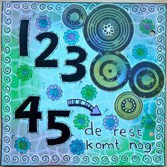 Cirkels en cijfers...gaaf!