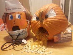 Winner Of Hospital Pumpkin Carving Contest Nursing