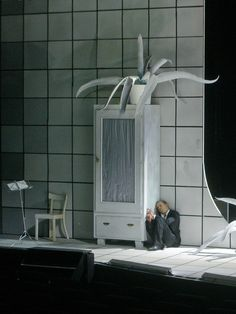 Klaus Grünberg, set and light design, Bakchen, Schauspiel Frankfurt, 2005, Regie Christof Nel