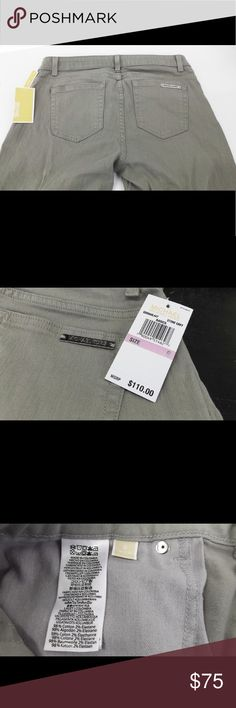 Michael Kors Basics Denim Jeans Stoney Gray NWT Michael Kors Basics Jeans in Stoney gray MSRP $110 Size 6 New with tags KORS Michael Kors Jeans Skinny