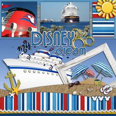 My Disney Dream - MouseScrappers - Disney Scrapbooking Gallery