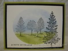 Stamp & Scrap with Frenchie: Stampin'Up! Lovely as a Tree