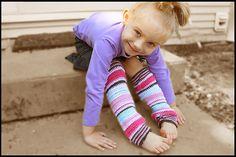 Ravelry: Her Little Leg Warmers pattern by Lisa Naskrent