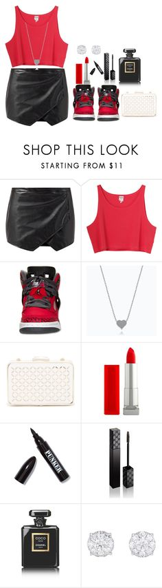 """Untitled #94"" by mimicherelus ❤ liked on Polyvore featuring moda, Monki, Sondra Roberts, Maybelline, Ardency Inn, Gucci y Chanel"