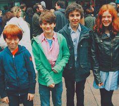 Trio's children...