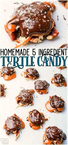 Easy Candy Recipes, Chocolate Candy Recipes, Easy Holiday Recipes, Nut Recipes, Chocolate Treats, Homemade Chocolate, Melted Chocolate, Cookie Recipes, Dessert Recipes