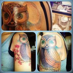 owl tattoo (much smaller)