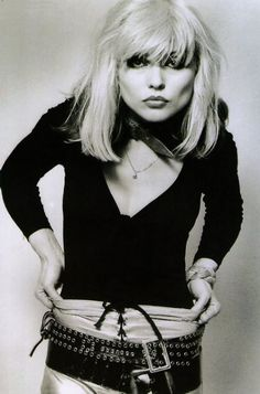 ♥ Debbie Harry ♥ Punk, post-punk, new wave Goddess. She is stunningly beautiful.