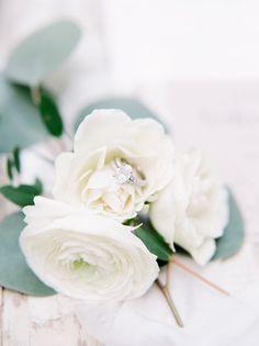 Stunning ring and floral shot #cedarwoodweddings Courtney+Adam :: 10.29.2016 | Cedarwood Weddings