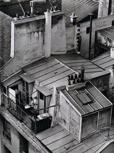 Roof tops of Paris - Quartier Latin - 1926