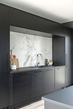 Design-Talo Pala Mikkelin asuntomessuilla 2017 Office Inspiration, Kitchen Interior, Black Kitchens, Interior, Home, Interior Spaces, Dining Area, Kitchen, Kitchen Dining
