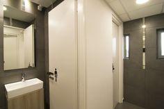 Interior design of training cenetr: THE WC!