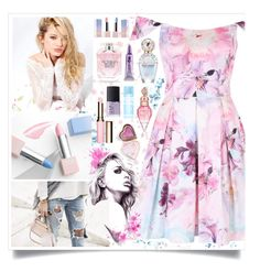 """""""Spring Floral"""" by angelstylee ❤ liked on Polyvore featuring Sephora Collection, Silvana, Marc Jacobs, Victoria's Secret, Clarins, Boohoo, Urban Decay, NARS Cosmetics, Victoria's Secret PINK and Spring"""