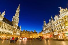 Le Grand Place, Bruselas, Bélgica
