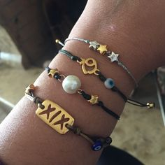 Make any combination you like with the lucky charm bracelets 2019 🎁🎄💜 New year and Christmas gifts 🎁