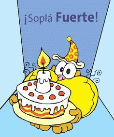 ¡Soplá fuerte las velas! ¡Pero no tanto! - ツ Imagenes y Tarjetas para Felicitar en Cumpleaños ツ