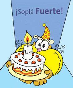 ¡Soplá fuerte las velas! ¡Pero no tanto! - ツ Imagenes para Cumpleaños ツ