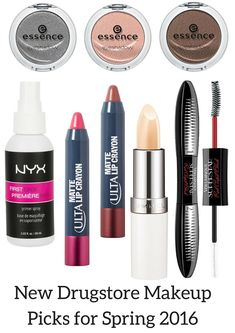 New Drugstore Makeup Picks for Spring 2016 | http://www.musingsofamuse.com/2016/01/new-drugstore-makeup-picks-for-spring-2016.html