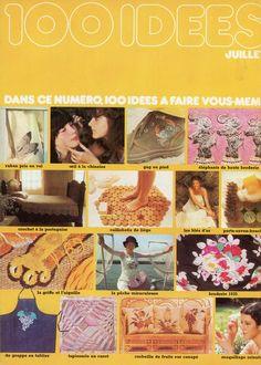 100 Idées n°45 - juillet 1977 - couverture - photos Jean-Pierre Godeaut.