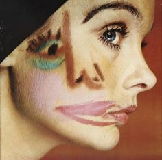 Jean Shrimpton by David Hockney and David Bailey, 1978.  This used to be in the private art collection of Lauren Bacall.