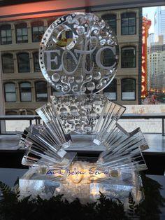 Springshine Monogram Ice Sculpture