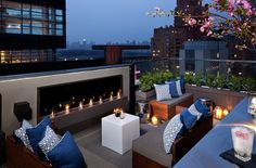 6 Above. 6 Columbus - A SIXTY Hotel. A chic NYC luxury hotel. By Hotelied.