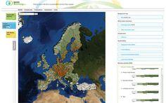 Nueva plataforma web para geolocalizar #biomasa forestal y astilla de madera en Europa