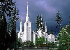 My favorite Portland Temple picture.