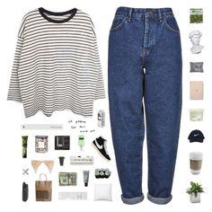 """""""tell him boy, bye"""" by healings ❤ liked on Polyvore featuring Boutique, Jan Kurtz, NIKE, Jura, Eichholtz, Davines, Black Apple, MAKE UP FOR EVER, Threshold and Pier 1 Imports"""