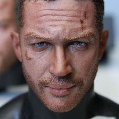 Modern Life 1/6th scale Tom Hardy as Max head! Fury Road is such an amazing movie, I'm very happy to have worked on a Tom as Max head with my team. This photo is from the actual run. www.modernlife-ml.com  #tomhardy #madmax #furyroad #headsculpt #head #portrait #likeness #fanart #painting #paint #sculpture #lifelike #life #realistic #realism #handmade #art #onesixthscale #doll #figure #miniature #actor #movie