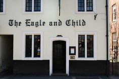 Eagle and Child pub, Oxford...the pub where cs lewis and jrr tolkien met every week...the inklings meeting place