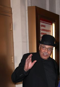 James Earl Jones  following opening night of Gore Vidal's THE BEST MAN (Sunday, April 1st, 2012) at the stage door outside the Gerald Schoenfeld Theatre.