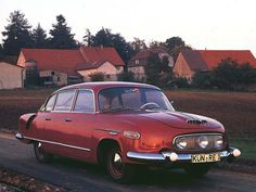 This 1958 Czechoslovakian model was not a very common car in the Eastern block, nor it was a Communist answer to any best-selling Western vehicle. The Tatra 603 was such a rarity on the streets, that ordinary people were considered lucky to even see one. Mercedes Benz 300, Vintage Cars, Antique Cars, Vintage Mustang, Gilles Villeneuve, Limousine, Bratislava, Ambulance, Old Cars