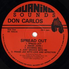 Don Carlos - Spread Out (Label)