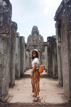 Visiting Angkor Wat: 48 hours temple run in Siem Reap Myanmar Travel, Cambodia Travel, Vietnam Travel, Thailand Travel, Asia Travel, Travel Outfit Summer, Summer Travel, Thailand Outfit, Travel Pose