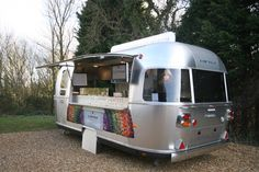 Airstream 1959 Catering Van, Catering Trailer, Food Trailer, Mobile Catering, Coffee Carts, Brand Campaign, Build Your Own, Airstream, Food Truck