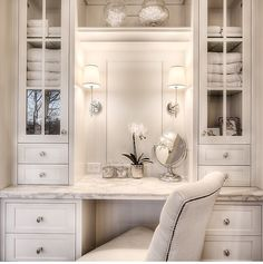 Vanity area inspiration for master bath