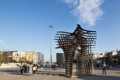 A modular sculptural installation, designed by Istanbul and New York based architectural practice GAD Architecture, was featured in Istanbul's famous Taksim Square during Istanbul Design Week 2014 3d Printing Technology, Istanbul, Skyscraper, Gate, Architecture Design, Multi Story Building, Louvre, Sculpture, Gallery