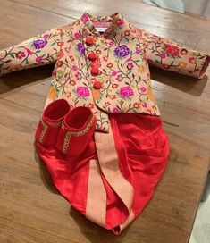 Toddler Boy Outfits, Kids Outfits, Baby Outfits, Baby Boy Ethnic Wear, Mens Kurta Designs, Blouse Designs, Kids Fashion Boy, Men's Fashion, Monthly Baby Photos