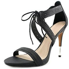 7ec9b36d6fb9 Pour La Victoire Womens Shanna Dress Sandal Black 10 M US    Be sure to