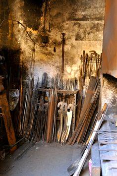 Sword foundry, Toledo Spain