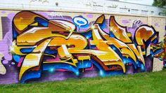 14 New Works of Detroit Graffiti @ Gratiot & Antietam